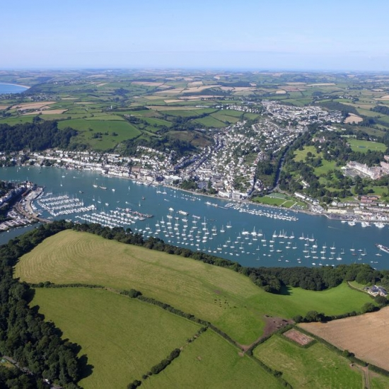 Dartmouth from the Air